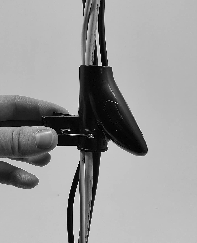 Bambelaa Kabelschlauch 1 5m Kabelkanal Kürzbar Kunststoff Flexible Kabelorganisation 20mm Durchmesser Weiß 1 5m X 20mm Bürobedarf Schreibwaren