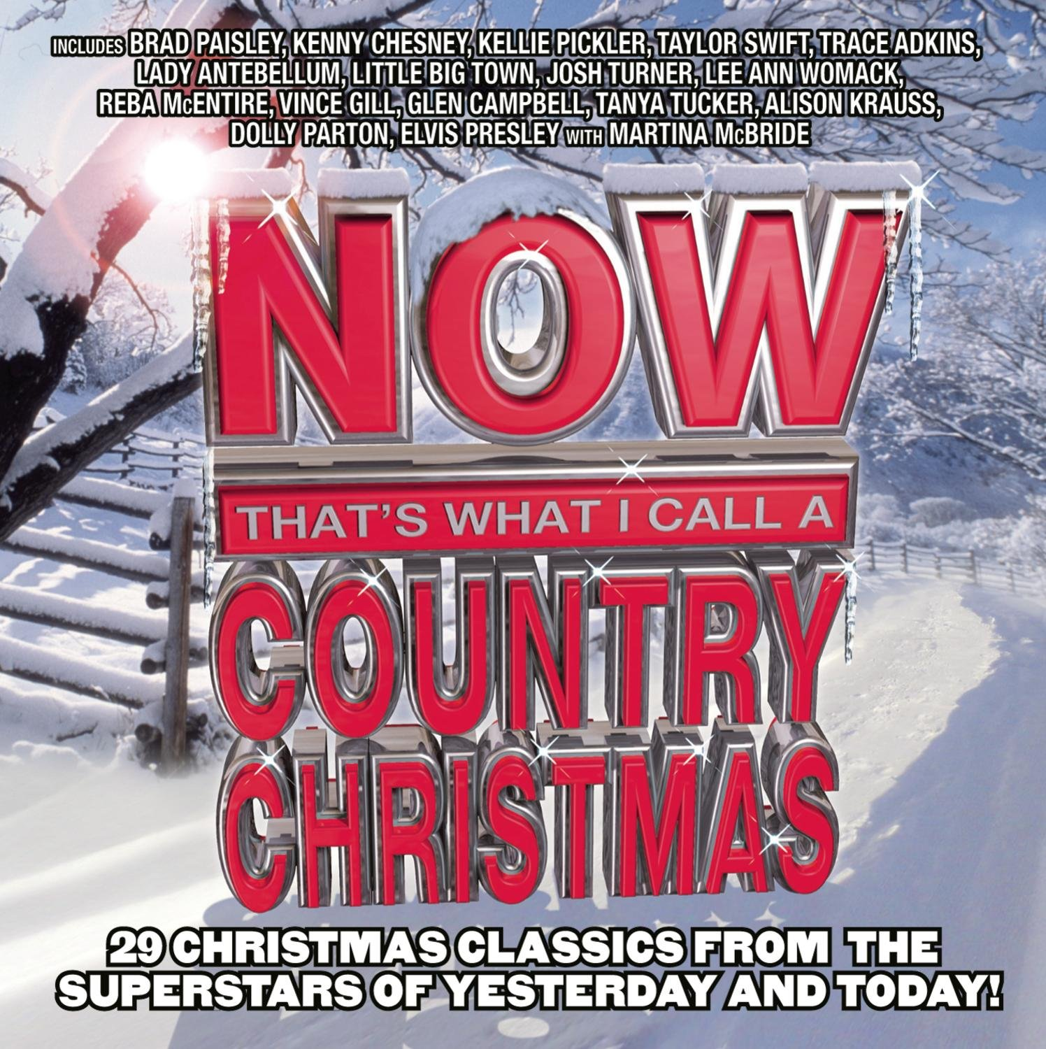 NOW That's What I Call A Country Christmas by Sony Music Entertainment