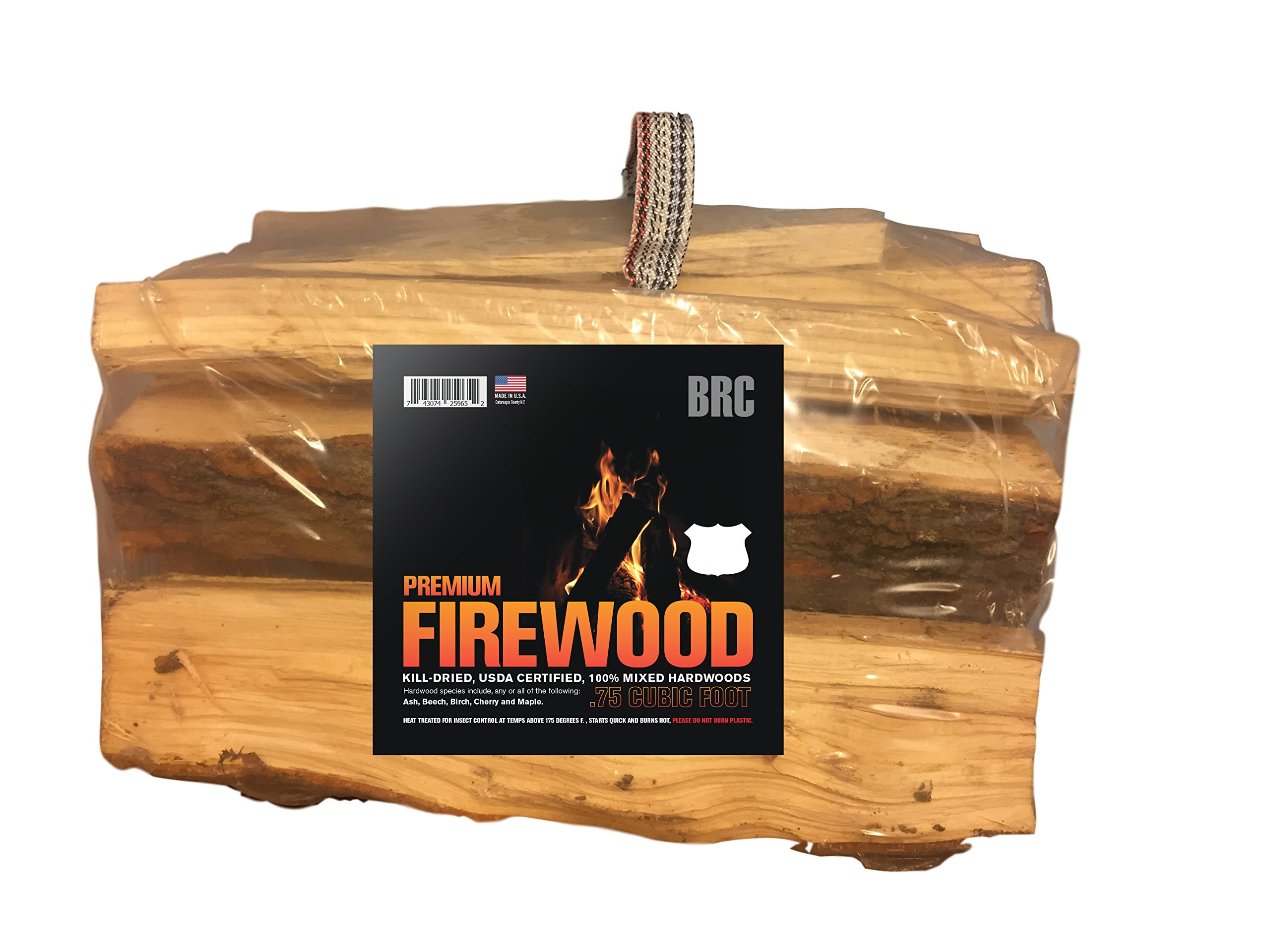 BRC Premium Firewood, Made in the USA! (Wood Bundle) by BRC (Image #1)