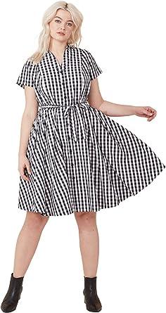 ellos Womens Plus Size Sandy Shirtwaist Dress