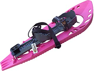 Morpho 10MHRAQYU ECOGB - Racchette da neve da adulto Trimo Ultra Light con cinturino caviglia con fibbia in tessuto rinforzato 12MHRAQOUB VGB