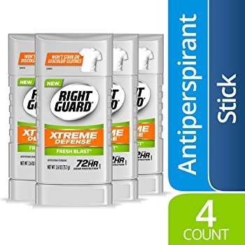 4-Count Right Xtreme Defense Antiperspirant Deodorant Solid Stick