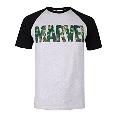 Very Cheap For Sale For Nice Sale Online Mens Character Camo T-Shirt MARVEL Best Place Sale Online i7O6AWE1jt