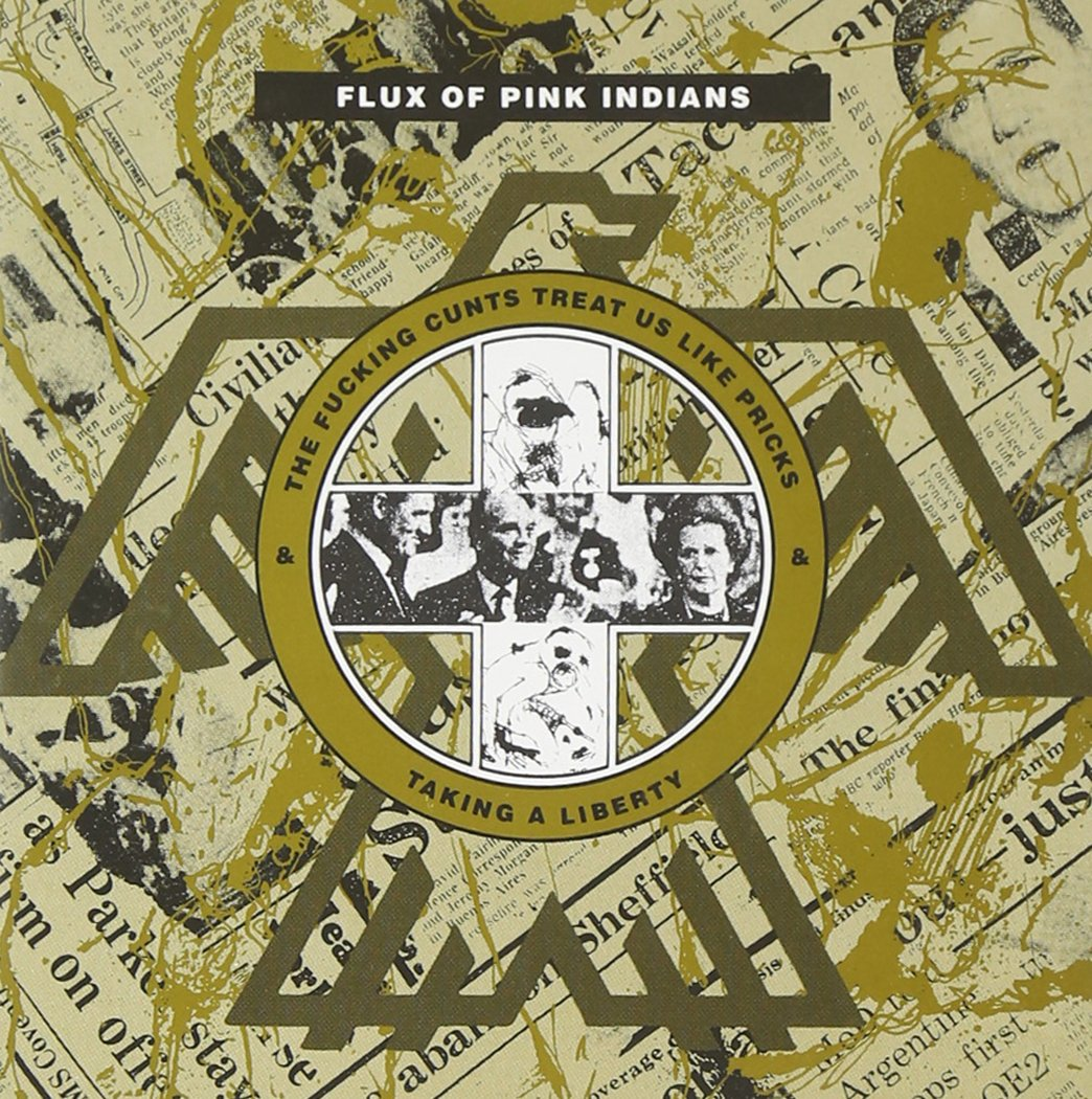 CD : Flux of Pink Indians - Taking A Liberty (CD)