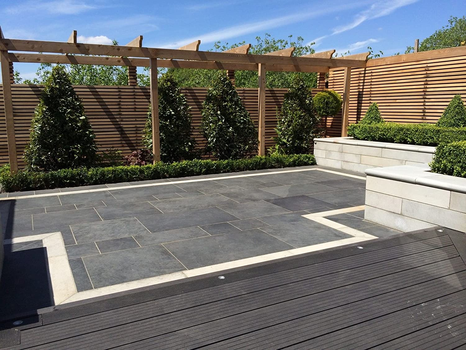 Composite Decking Charcoal 35 Square Meter Pack (incl. fixings and screws)