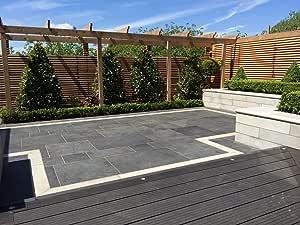 Compuesto de madera gris 15 metros cuadrados unidades (Set de ...