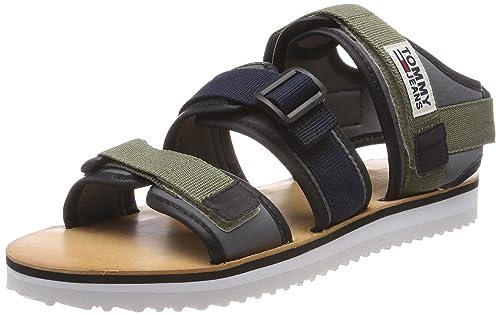 0d2284f8c7ebb4 Tommy Jeans Men s Urban Tj Strap Sandal Sling Back  Amazon.co.uk ...