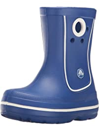 ebd570f27 Crocs Unisex-Child Crocband Jaunt Kids Rain Boot