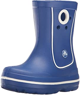 3a858a1099 Amazon.com | Crocs Kids' Handle It Rain Boot | Easy On for Toddlers ...