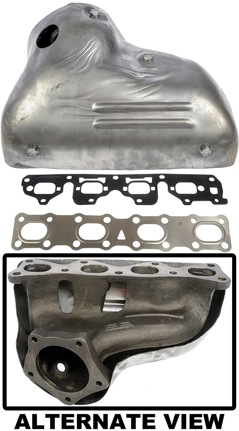 Upgraded Thicker Cast Iron Design Replaces 0K08A-13451C APDTY 785776 Exhaust Manifold For 1998-2002 Kia Sportage