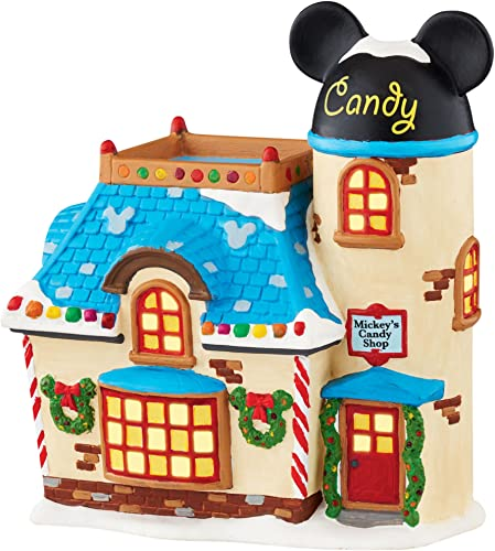 Department 56 Disney Village Mickey s Candy Shop Figurine 4047183