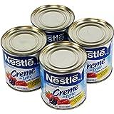 Nestlé Creme de Leite 300ml   Table Cream 10.1 Fl.Oz. (Pack of 04)
