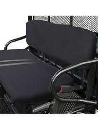 Classic Accessories 78377 QuadGear UTV Seat Cover For Polaris Bucket Seats, Black