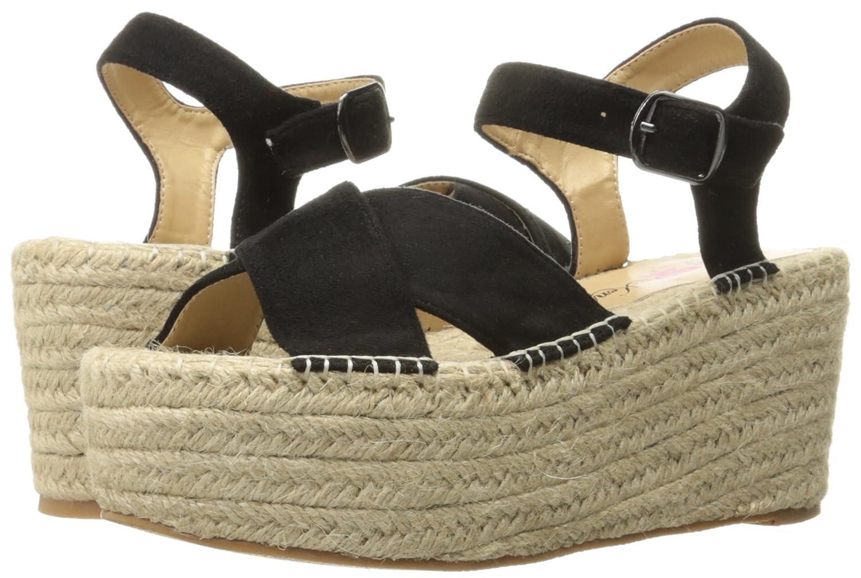 Penny Loves Kenny Women's Friend Platform Sandal B01MSYRS16 11 W US|Black