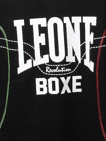 T-Shirt Leone Sport abbigliamento leone maglia in cotone NERA LSM390