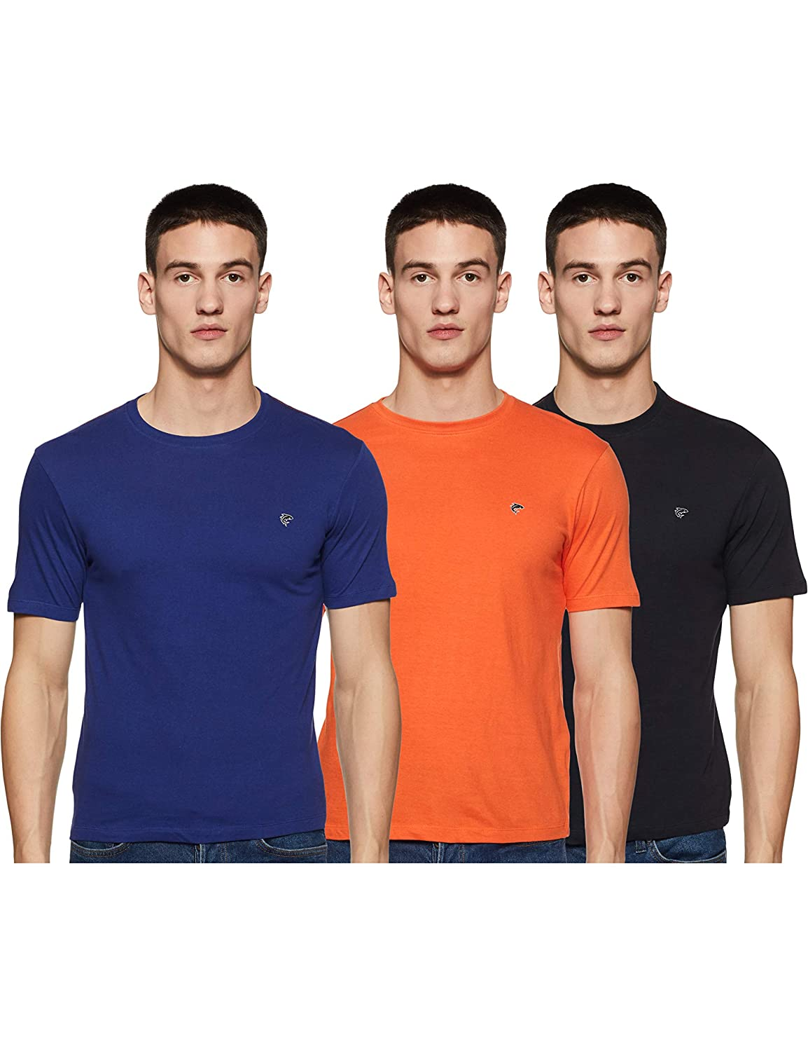 Ruggers Men's T-Shirt (Pack of 3) from Rs.279 at Amazon