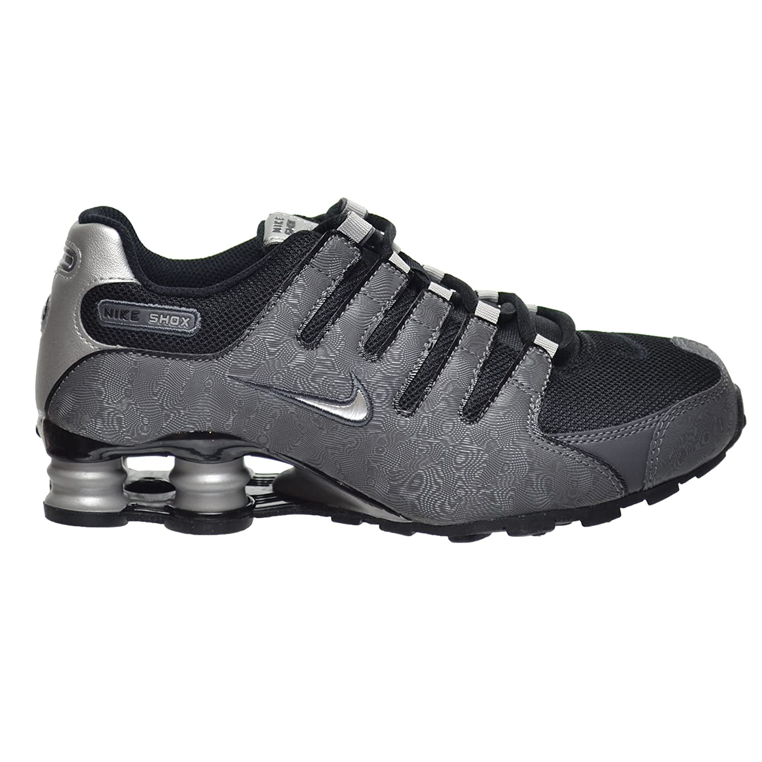 official photos ebde5 a4f8c Nike Shox NZ SI Plus(GS) Big Kid s Shoes Black Metallic Silver-Dark Grey  317929-029 (4 M US)  Amazon.ca  Shoes   Handbags