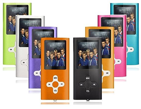 MP3 MP4 reproductor de música con Tabmart 16 GB tarjeta de memoria ...