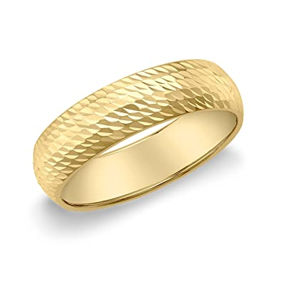 Bague en Or de 9 cts pour femme dans une belle boîte cadeau de luxe.