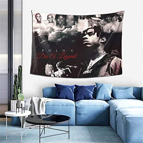 Amazon Com Antonia Bellamy Rapper Tapestry Wall Hanging For Living Room Bedroom Dorm Room Home Decor 60 X 40in Everything Else