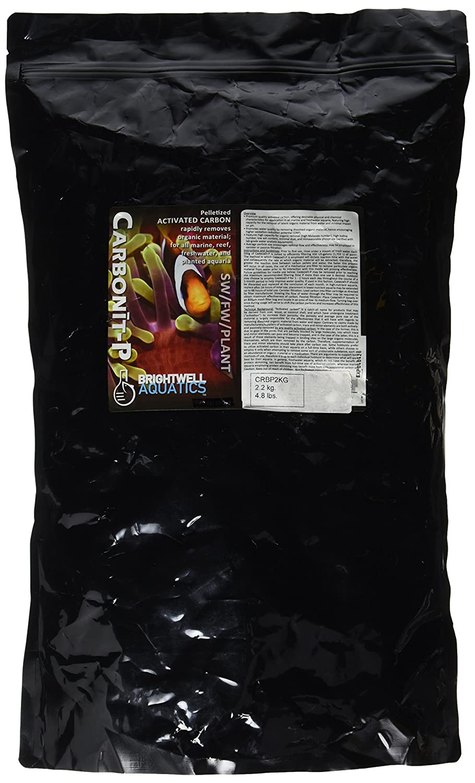 Brightwell Aquatics ABACRBP2KG Carbonit-P Carbon Filter Media for Aquarium, 4.8-Pound by Brightwell Aquatics B00BUFUN42