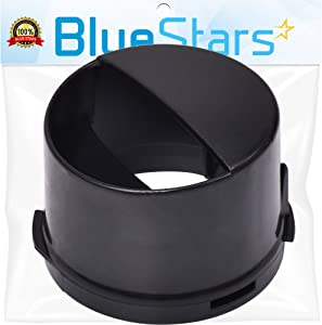 Ultra Durable 2260502B Refrigerator Water Filter Cap Replacement Part by Blue Stars – Exact Fit For Whirlpool & Kenmore Refrigerators - Replaces 2260518B WP2260518BVP PS11739970