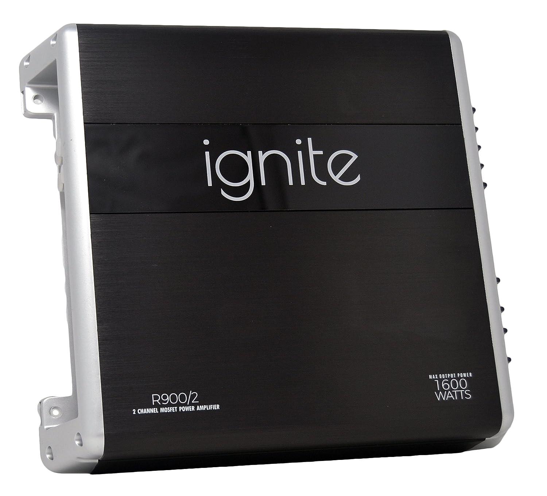 Ignite Audio 2 Channel Class A//B Car Amplifier 1600 Watts Peak Power R900//1D