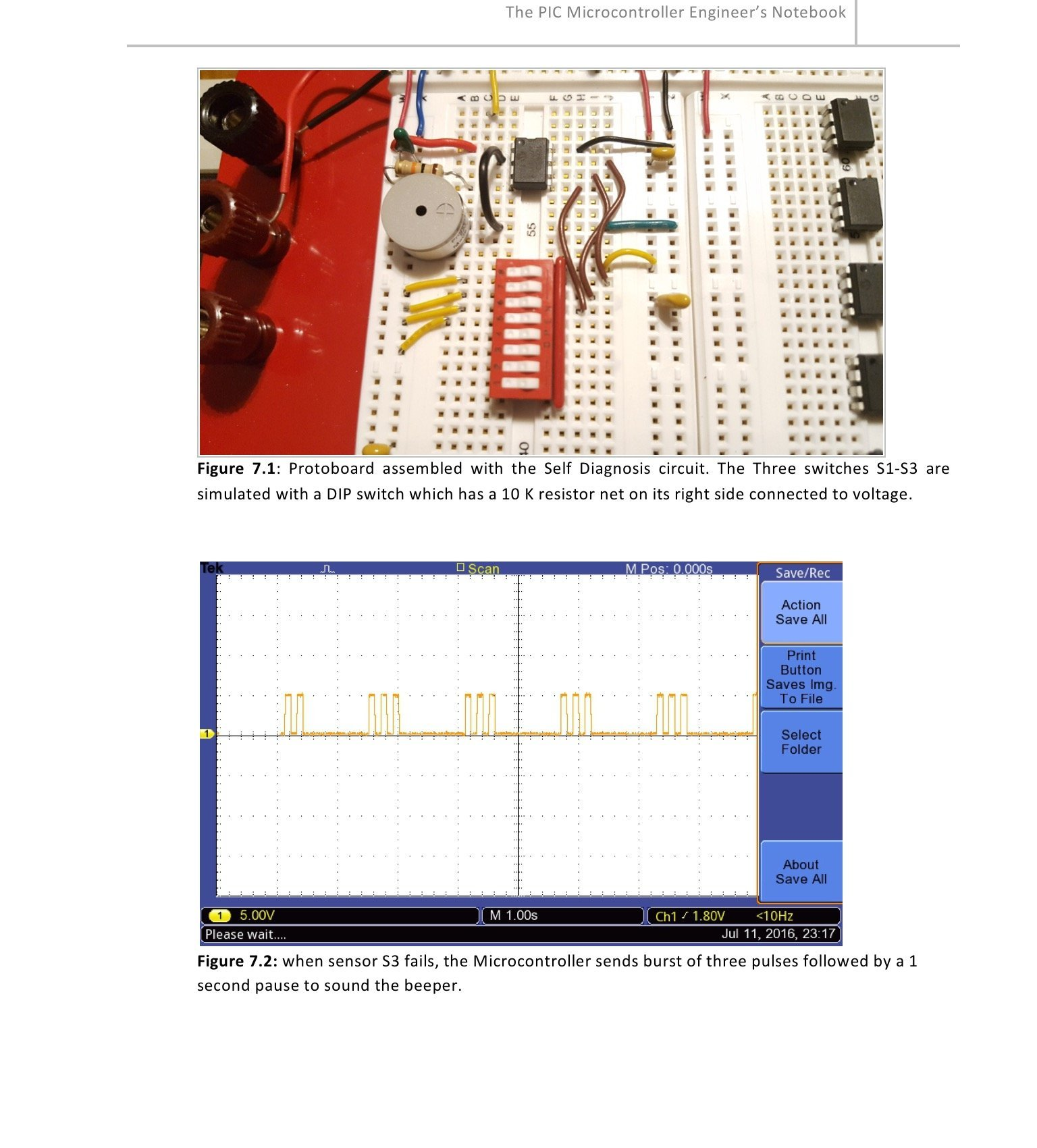 Microcontroller Engineers Notebook 12 Experiments Pic12f683 So This Is Itnow Use Your Pic16f877a To Give 5v Integrated Circuits Microchips Instrumentation Analog Digital Thermometer Lcd Display Leds