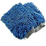Zwipes Chenille Microfiber Premium Scratch-Free Car Wash Mitt, 2-Pack