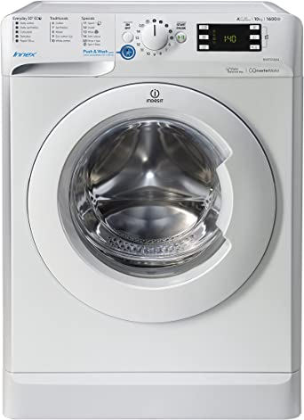 Indesit Innex BWE 101684X W UK Washing Machine - White [Energy Class A+++]