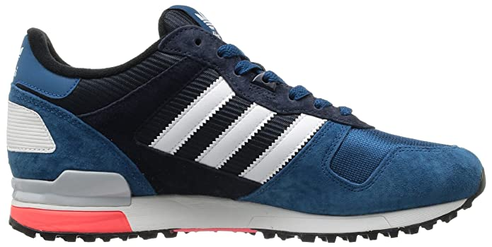 best authentic 4329f 46076 adidas Originals Mens ZX 700-4 Trainers D65644 Tribe Blue Mel Running White  FTW Legend Ink 12.5 UK, 48 EU  Amazon.co.uk  Shoes   Bags