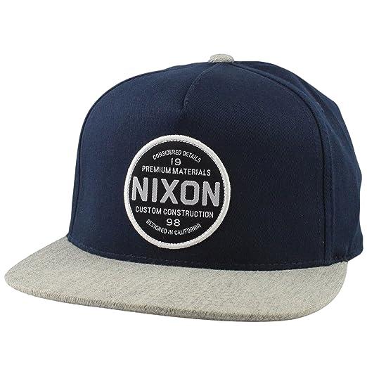 d3480dee6ee Amazon.com  Nixon Men s Lazaro 110 Snapback Hat