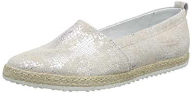 Marc Shoes Emily, Damen Espadrilles, Schwarz (Black-Silver 846), 42 EU