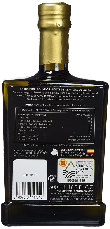 Aceite de oliva virgen extra indomable royal: Amazon.es: Alimentación y bebidas