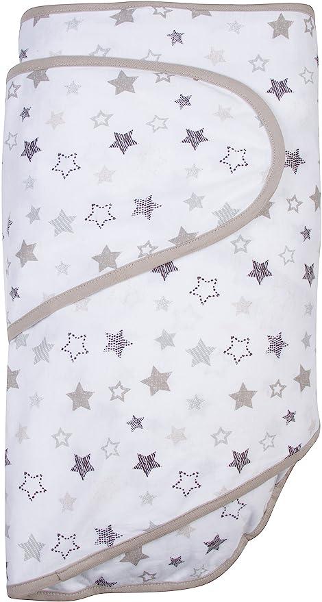 Miracle Couverture bébé Lange - Gris étoiles: Amazon.es: Bebé