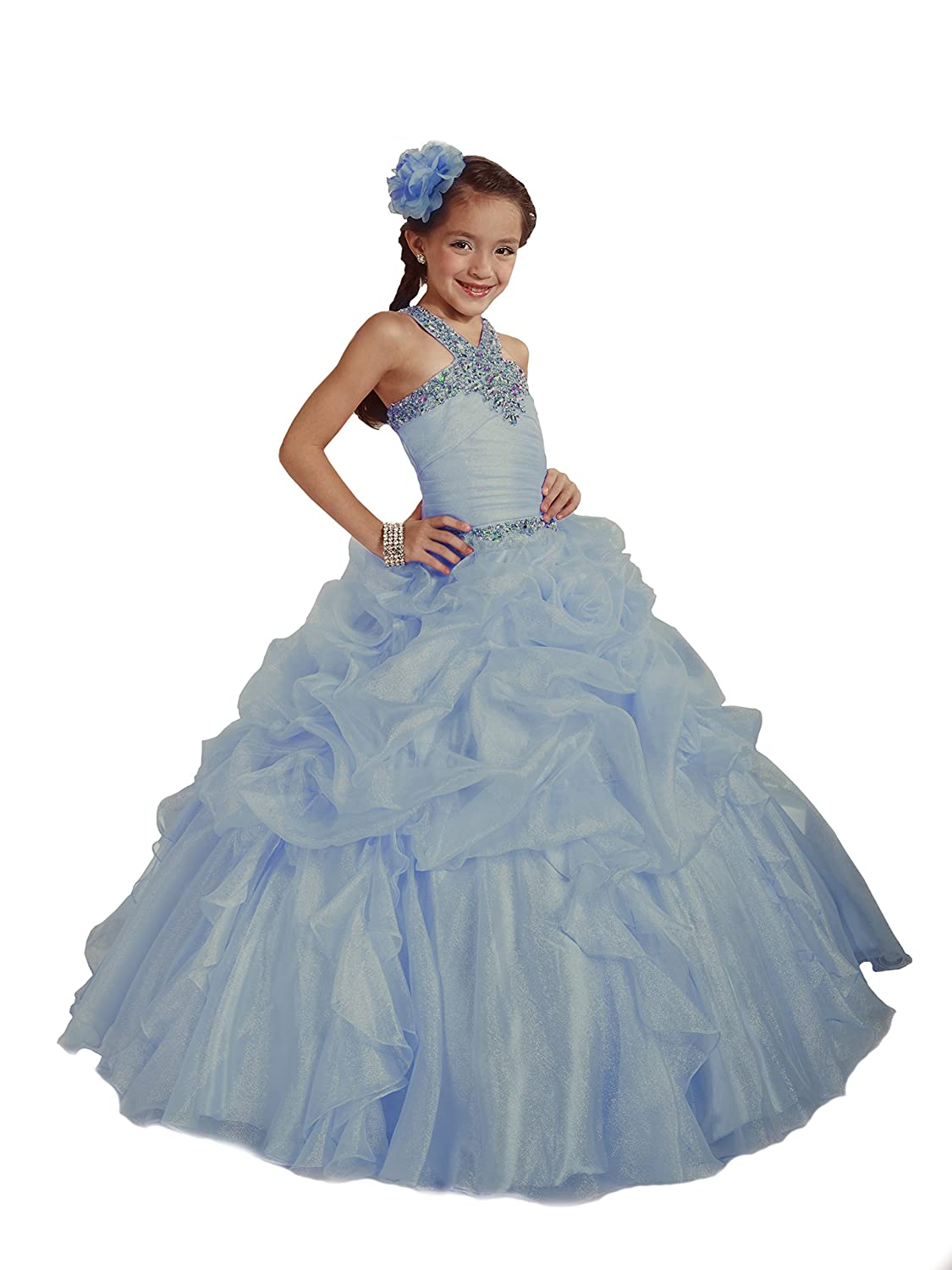 Amazon.com: Tiffany Princess Pageant Dress for Girls by Glitz 33423 ...