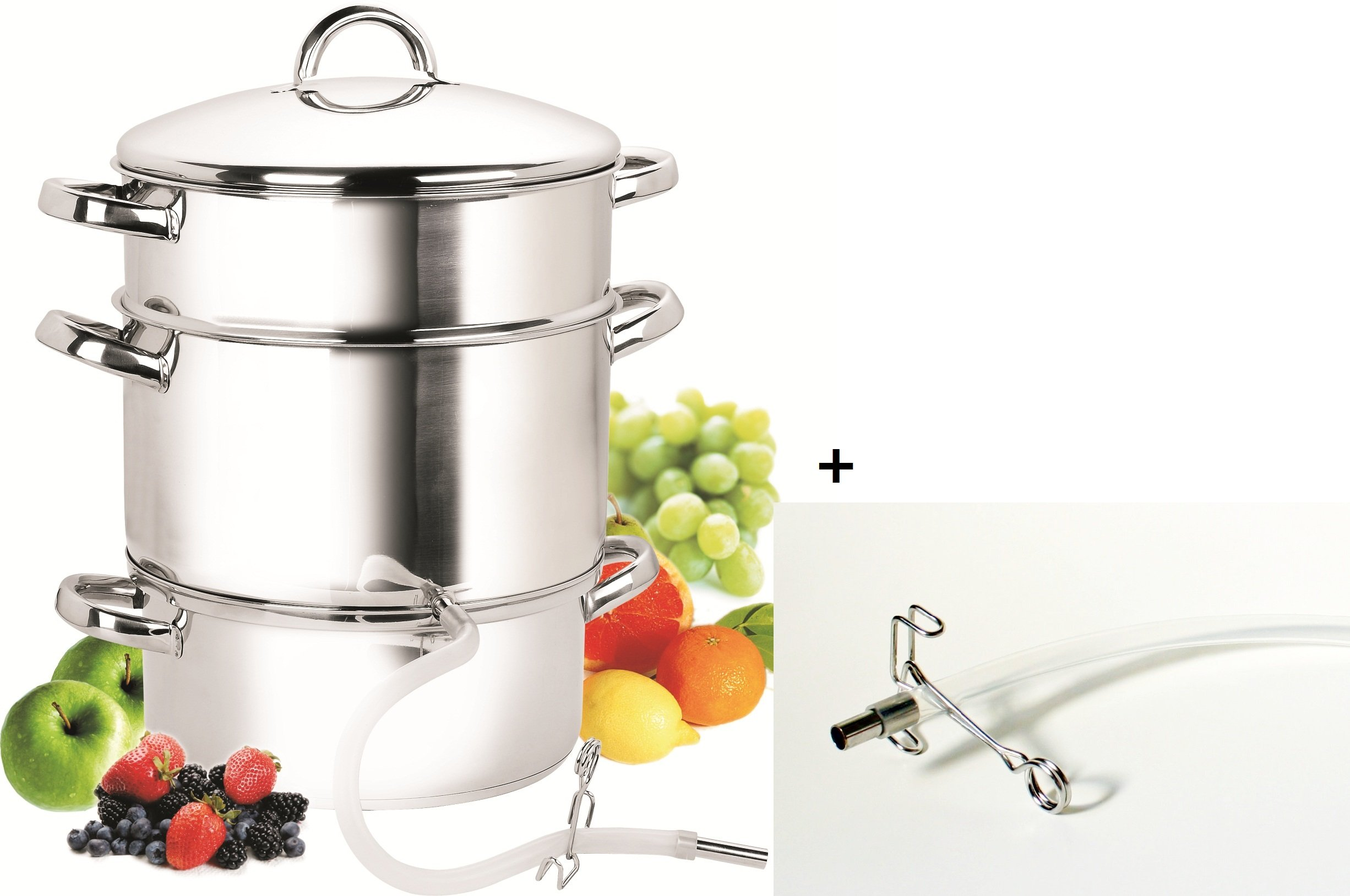 Cook N Home NC-00256 11-Quart Stainless-Steel Juicer Steamer by Cook N Home (Image #3)