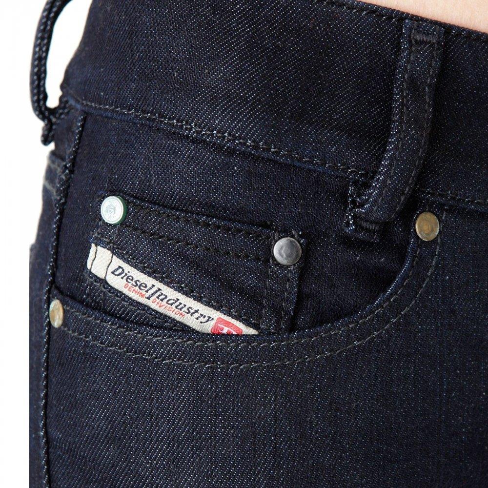 Diesel - Jean - Femme - Louvely 00aa8 Stretch - Bleu Brut - W28 L34   Amazon.fr  Vêtements et accessoires 895e70d3f73