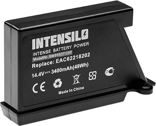 INTENSILO batería reemplaza LG EAC62218205 para aspiradora robot ...