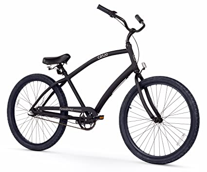 0961b7d80ee Firmstrong Men's CA-520 Alloy 3-Speed Beach Cruiser Bicycle, 26-Inch