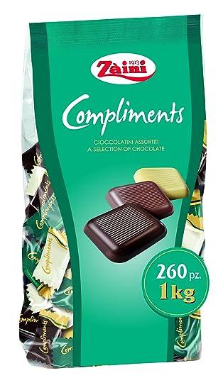 Bombones De Chocolate Extrafino Con Leche Negro Y Blanco Zaini 6 G