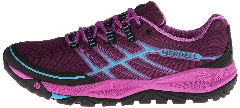 Merrell Allout Rush W's Damen Traillaufschuhe, Black, 36 EU / 3.5 UK / 5.5 US