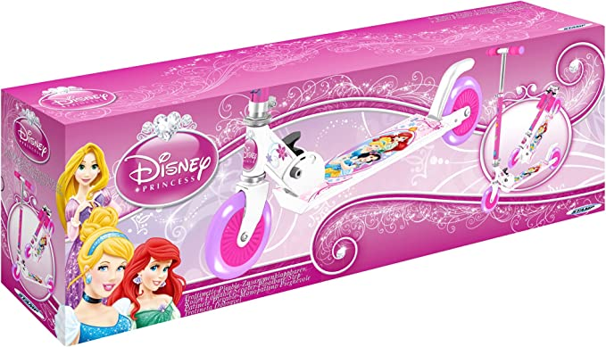 Amazon.com: Disney Princess J100076 plegable Scooter con ...