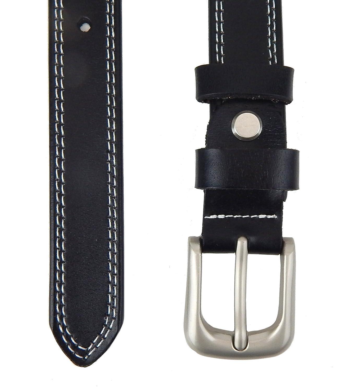 Ella Jonte ceinture femme noir en cuir avec boucle à ardillon 2,3 cm largeur   Amazon.fr  Vêtements et accessoires d3bac6b7fab
