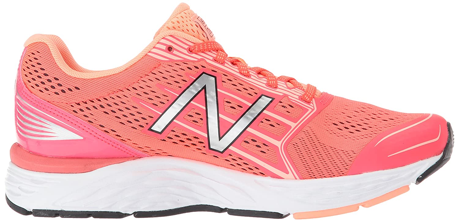New Balance Women's 680v5 Cushioning Running Shoe B06XSDYJR1 10 D US|Coral