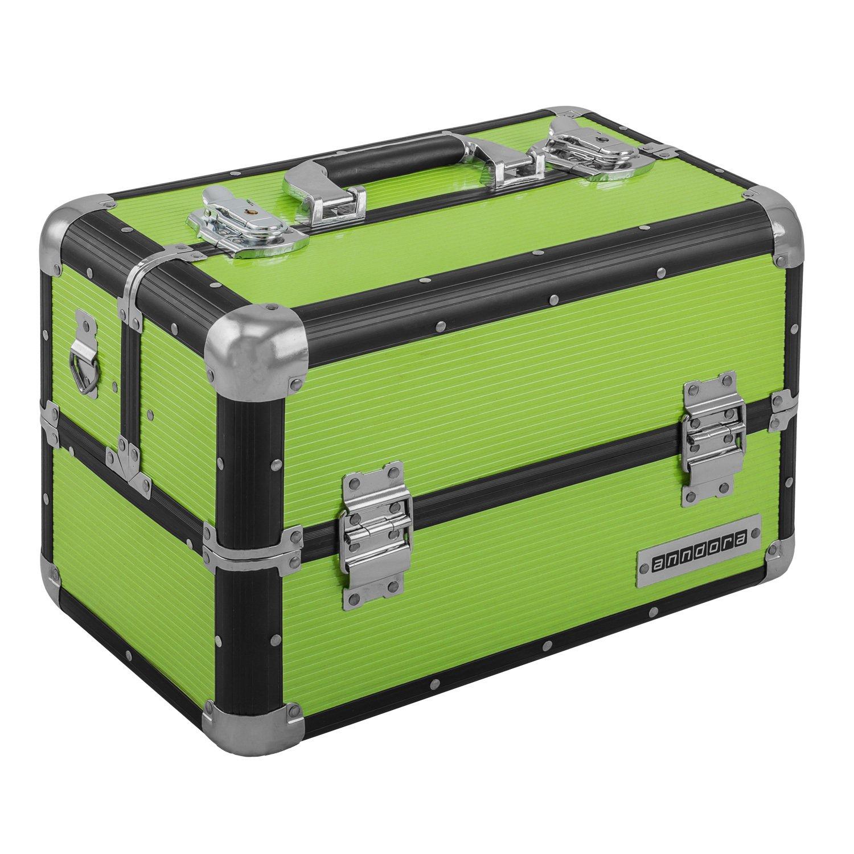 Beauty Case 20L Multi Valise étage Coffre de transport–Choix de Couleurs L FS: Rennaissance dunkel ANNDORA SHOPPING-WELTEN