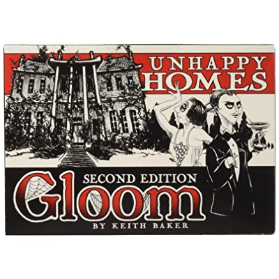 Atlas Gloom Unhappy Homes 2nd Edition: Keith Baker, Michelle Nephew: Toys & Games