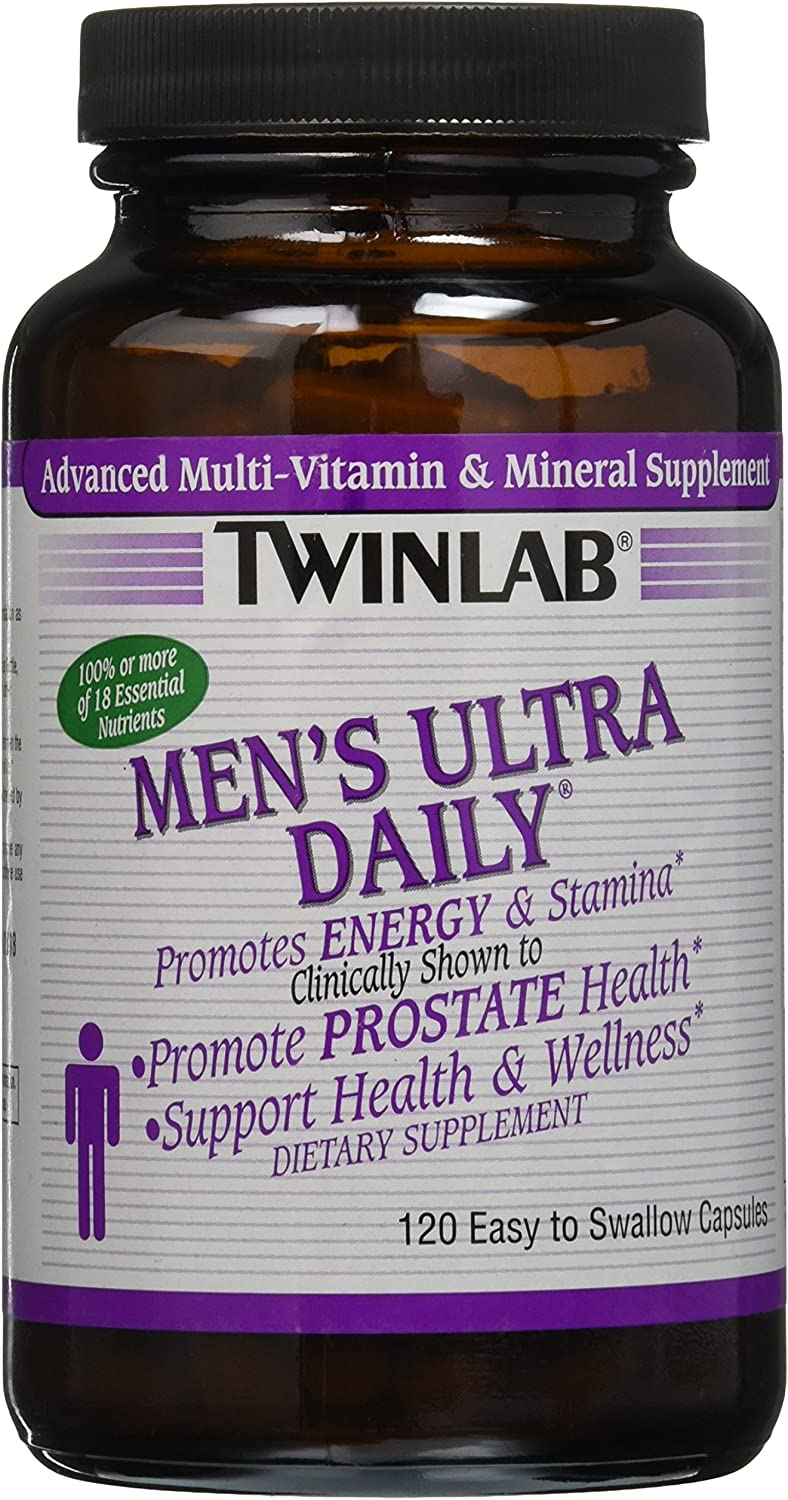 Twinlab Men s Ultra Daily – 120 Capsules