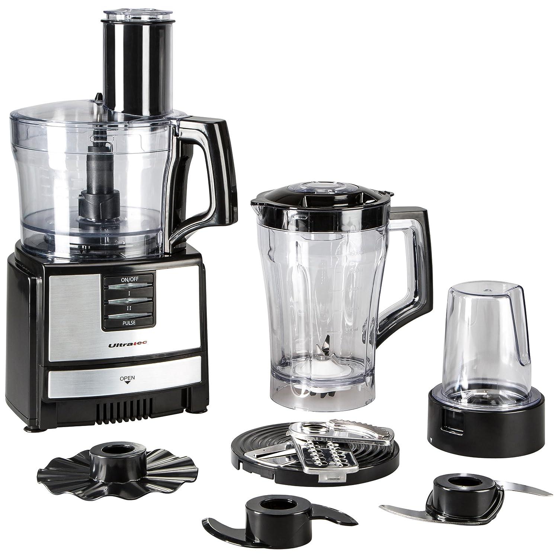 Amazon.de: Ultratec Küchenmaschine KM600 mit umfangreichen Zubehör ...