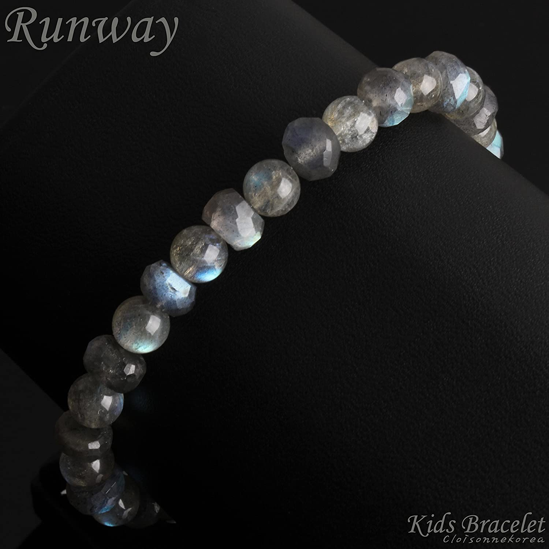 Bracelet Labradorite 14K Gold Kids Edition Runway 9105KB